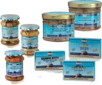 Linea mare in olio extravergine di oliva da agricoltura Biologica filetti e tranci di pesce cotti a vapore